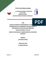 Técnica de registro de hidrocarburos y el monitoreo e interpretación de los parametros utilizados durante la perforación de pozos petroleros terrestres..pdf