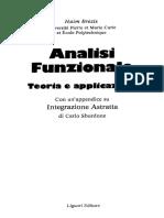H.brezis - Analisi Funzionale- Teoria E Applicazioni