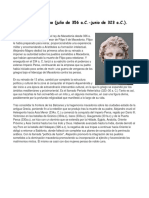 Biografia Alejandro Magno