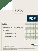 CaCo3 Mercado e Aplicações