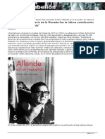 Suicidio última contribución Allende - Enric Llopis
