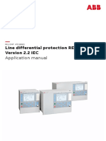 Application Manual Line Differential Protection RED670 Version 2.2 IEC