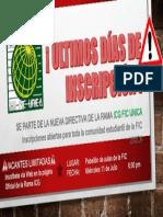 ULTIMOS DÍAS DE INSCRIPCIÓN !.pptx