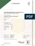 CAMBRIDGE CERTICATE A2 ....pdf