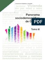 Panorama Sociodemográfico de Oaxaca Tomo III