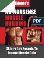 No Nonsense Muscle Building - Men.pdf
