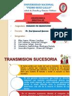 JURISPRUDENCIA REGISTRAL EN TRANSMISION SUCESORIA