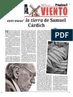 Samuel Cárdich en Aspaviento 33