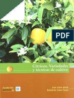 Citricos, Variedades y Tecnicas de Cultivo - Juan Soler Aznar