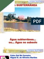 4.Água Subterrânea