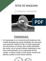 Diseño de Engranajes Conicos