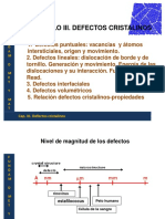 Defectos en Materiales