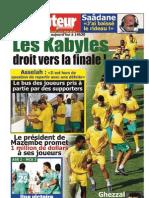 LE BUTEUR PDF du 03/10/2010