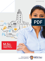 MSc Business Analytics Course- BITS WILP