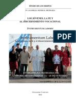 Instrumentum-laboris SINODO 2018 ESPANOL