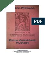 Tapa Primera Edición La Rosa Blindada - González Tuñón