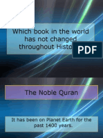 Which Book in the World Has Not Changed