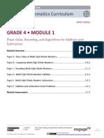 4th Grade Engage NY Module 1