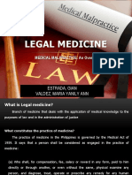 Leg Med Ppt - Medical Malpractice