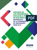 Historia de Los Programas Sociales