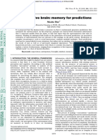 Bar 2009 the Proactive Brain Memory for Predictions