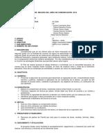 2do- Plan de Mejora Del Area de Comunicación