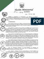 RM 124 2018 MINEDU Orientaciones Implementación Currículo 2018