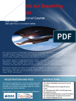 Hypersonic Air Breathing Propulsion Course