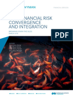 Non Financial Risk Convergence and Integration Oliver Wyman