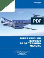 Manual King Air - 200 EFOA Company