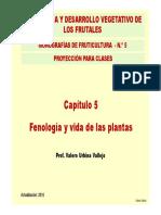 5. Fenologia y Vida Plantas
