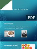 ELABORACIÓN DE GRANOLA