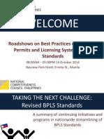 Revised BPLS Standards 2014