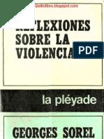George Sorel - Reflexiones Sobre La Violencia