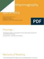 Body Plethysmography & Spirometry
