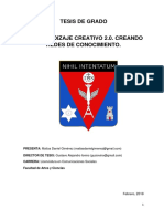 Giménez, Matías. Aprendizaje Creativo 2.0