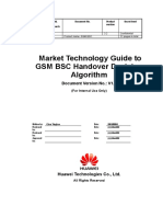 Market Technology Guide to GSM BSC Handover Decision Algorithm-20010804-A-1.0