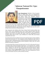 Biografi Pahlawan Nasional Dr