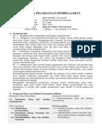 RPP Produk Kreatif dan Kewirausahaan KD 3.1. Sikap dan Prilaku Wirausaha