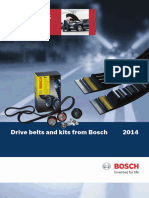 Drive belts and kits from Bosch  2014