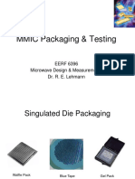 MMIC Design, Part 3 - Packaging & Testing