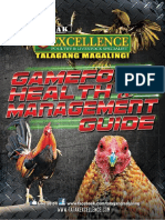 Excellence Gamefowl Health & Management Guide