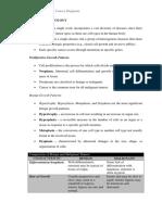 Cancer - Pathophysiology