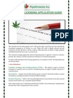 Cannabis Licensing Application Guide