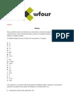 Aula 01 - Alfabeto