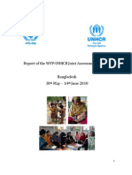 Report of the Rohingya Refugee Joint Assessment Mission by WFP-UNHCR