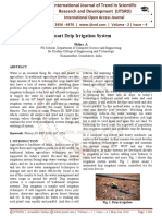 Smart Drip Irrigation System