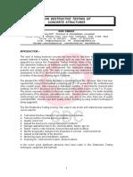 NON Destructive Testing of Concrete Structures - Ravi Ranade NDT Paper