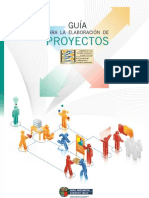 Guia Para La Elaboracion de Proyectos
