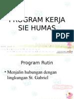 Program Kerja Humas